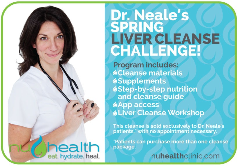 nuHealth clinic Dr. Nadene Neale Vancouver Wa Naturopath best of clark county liver cleanse
