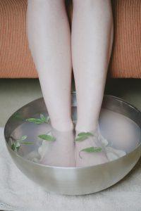 nuHealth clinic Dr. Nadene Neal Vancouver Wa Naturopath foot bath