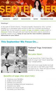 nuHealth clinic Dr. Nadene Neal Vancouver Wa Naturopath newlsetter September